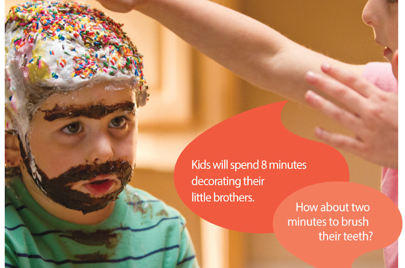 Brush Your Teeth Two Minutes, Two Times a Day